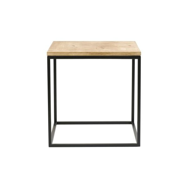 ODkladací stolík Side Black, 45x45x47 cm
