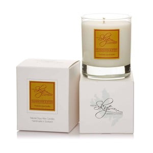 Sviečka s vôňou kadidla a myrhy Skye Candles Tumbler, dĺžka horenia 45 hodín