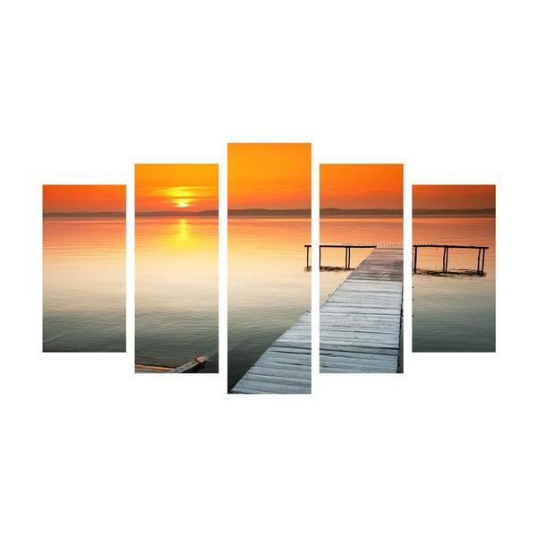 5-dielny obraz Ocean Walk, 60x100 cm