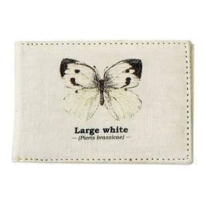 Obal na cestovný pas Gift Republic White Butterfly