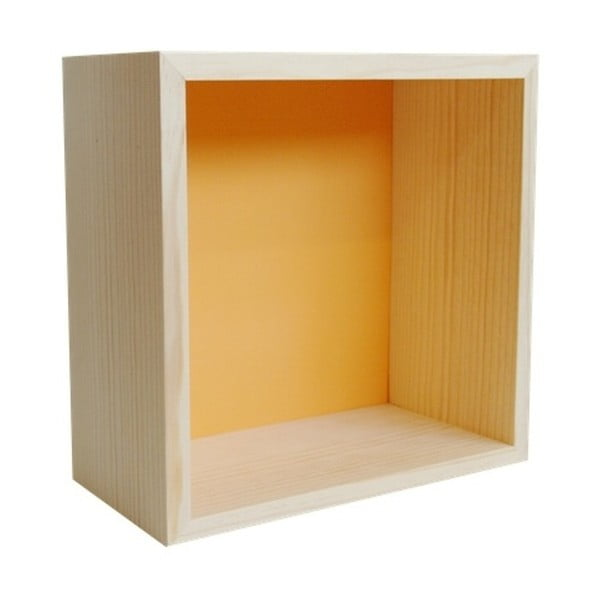 Dekorácia Cubo Pattern Ocre L