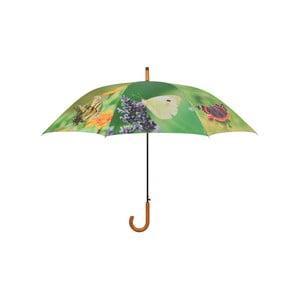 Dáždnik s potlačou motýľov Ego Dekor, ⌀ 120 cm