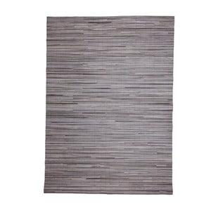 Kožený koberec Instant Grey, 170x240 cm