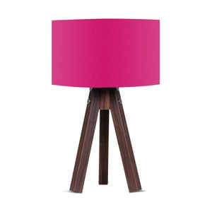 Stolová lampa s ružovým tienidlom Kate Louise Kahve