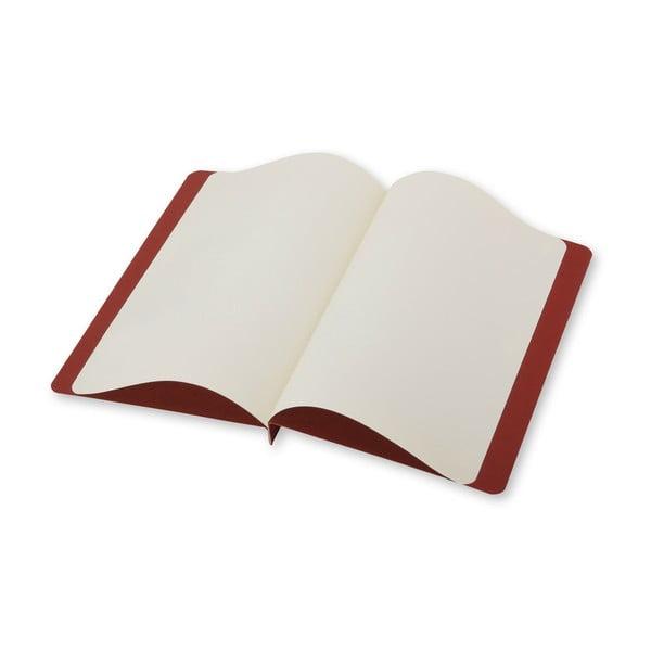 Listový set Moleskine Terracotta, zápisník + obálka