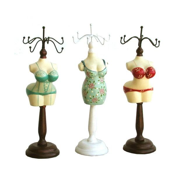 Sada 3 stojanov na šperky Bolzonella Ladies