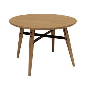 Hnedý konferenčný stolík Canett Exact