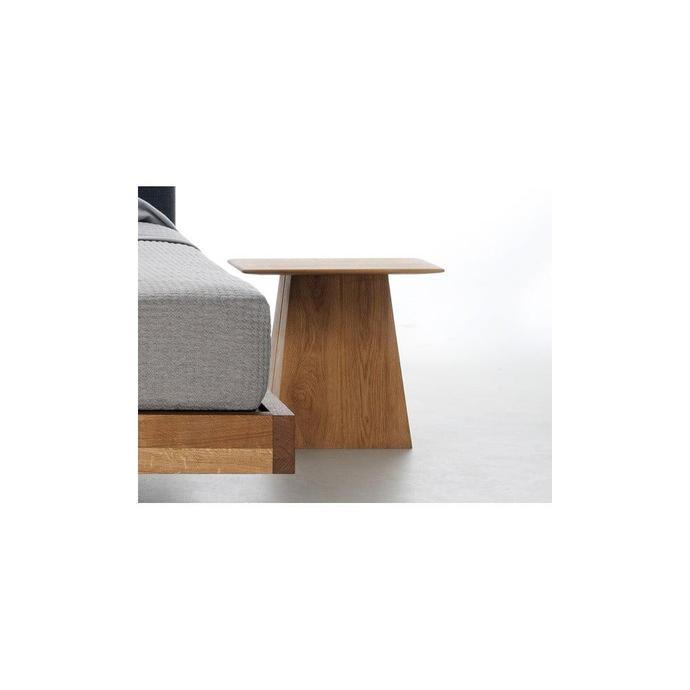Nočný stôl z olejovaného dubového dreva Mazzivo Fungo