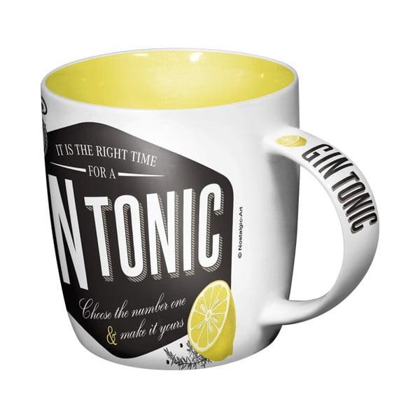 Keramický hrnček Gin Tonic,330ml