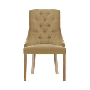 Svetlohnedá jedálenská stolička Jalouse Maison Chiara