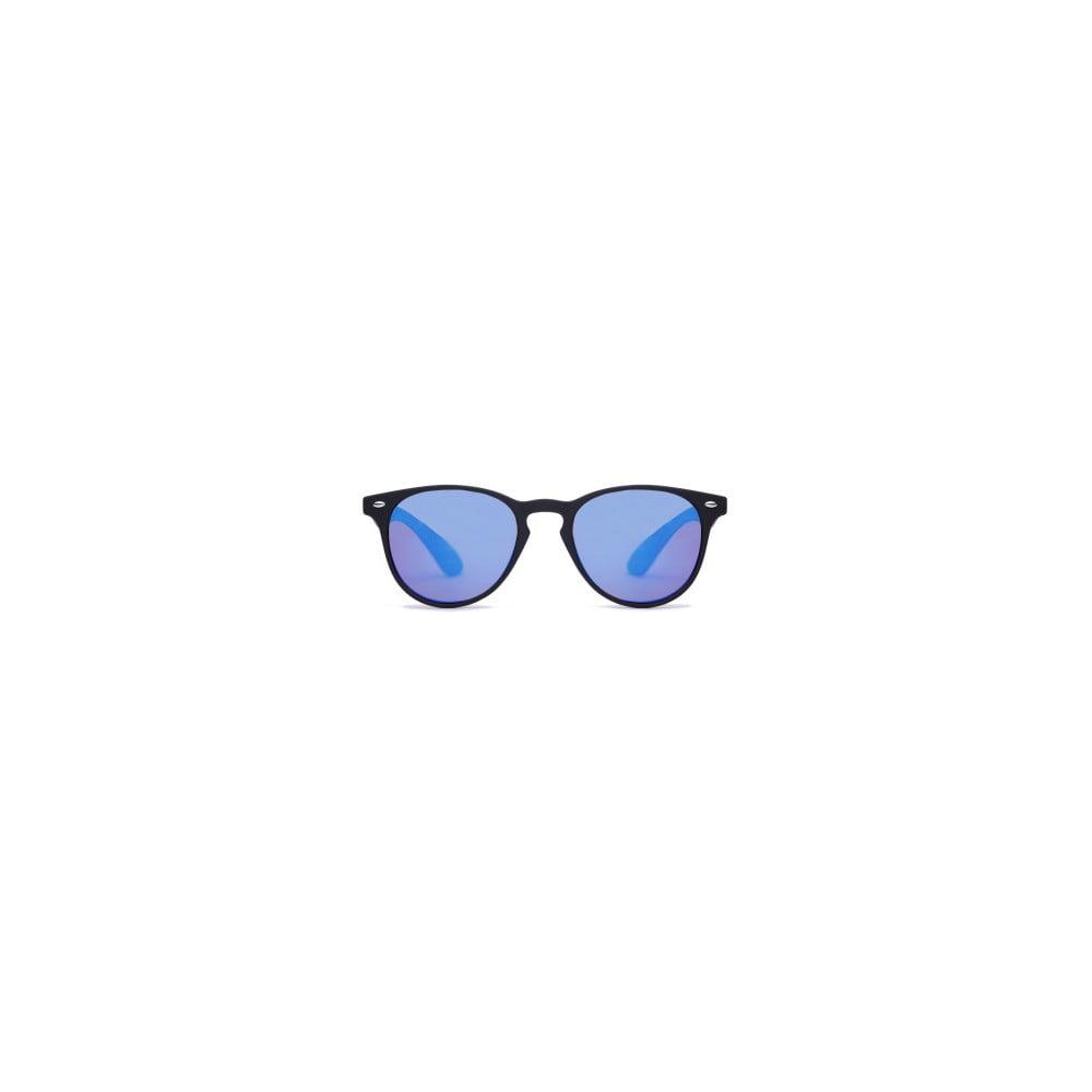 0467aa82b ... Slnečné okuliare s čiernym rámom a modrými sklami David LocCo  Globetrotter Snazzy ...