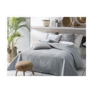 Sivý pléd cez posteľ Slowdeco Buenos, 170×210 cm