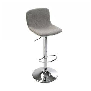 Sivá barová stolička Versa Queens