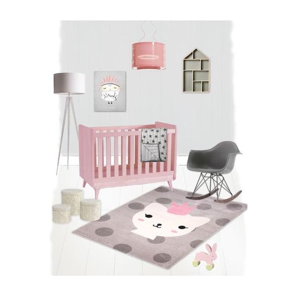 Detský koberec Nattiot Lola Polka,120x170cm