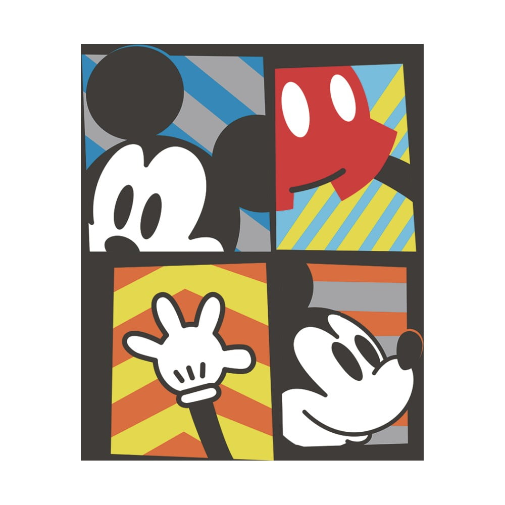 Obraz Pyramid International Mickey Mouse Framed, 40 × 40 cm