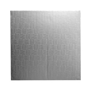Sivá prekládacia karta na torty Mason Cash Baking, 32 x 32 cm