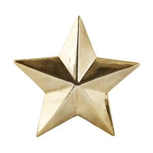 Dekoratívna hviezda KJCollection Ceramic Gold, 3,5 cm