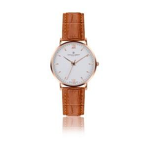 Unisex hodinky so svetlohnedým remienkom z pravej kože Frederic Graff Croco