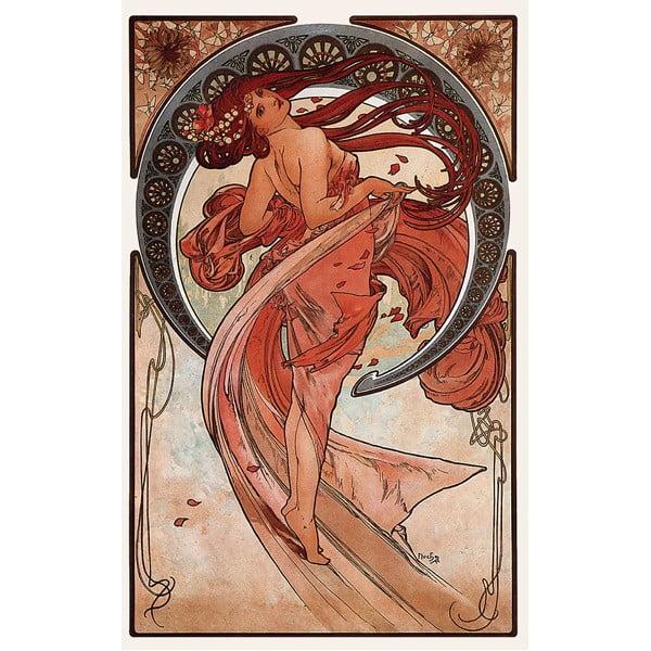 Obraz Alfons Mucha Dance, 80x50 cm
