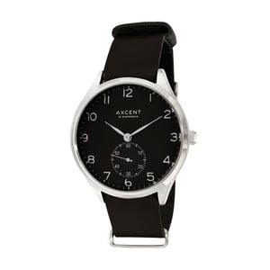 Čierne hodinky Axcent of Scandinavia Vintage