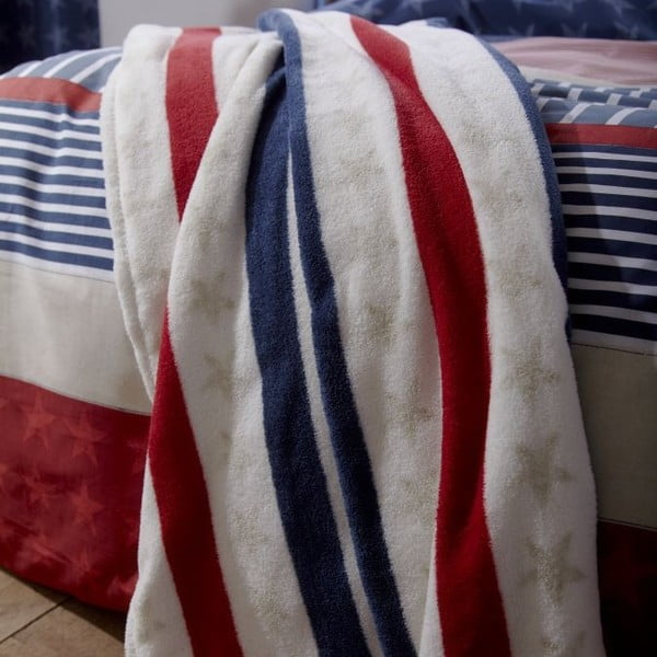 Deka Catherine Lansfield Stars and Stripes, 120×150 cm
