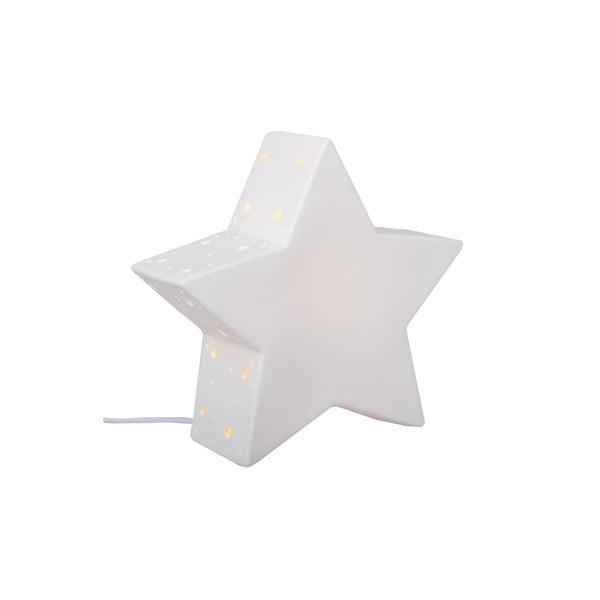 Keramická stolová lampička Star, 25 cm