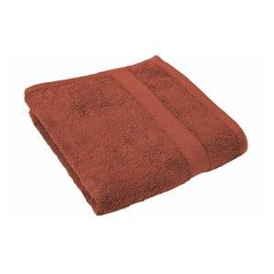 Tehlovočervený uterák Tiseco Home Studio, 50 × 100 cm