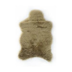 Kožušinový koberec Apolena, 100x150 cm, hnedý