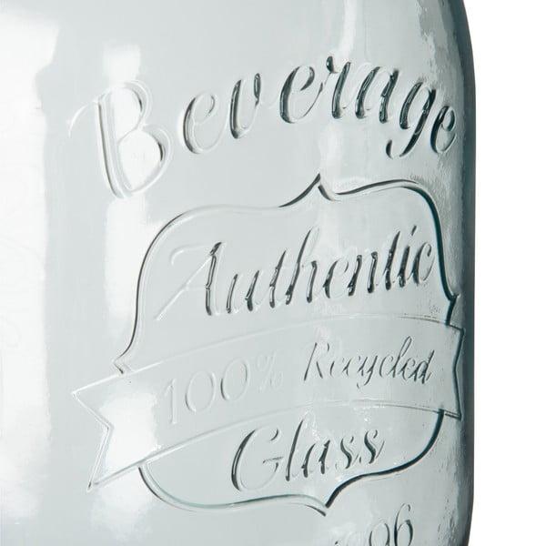 Sklenený barel na limonádu Drink
