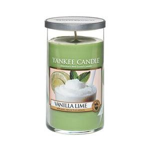 Vonná sviečka Yankee Candle Vanilka s limetkou, doba horenia až 90 hodín