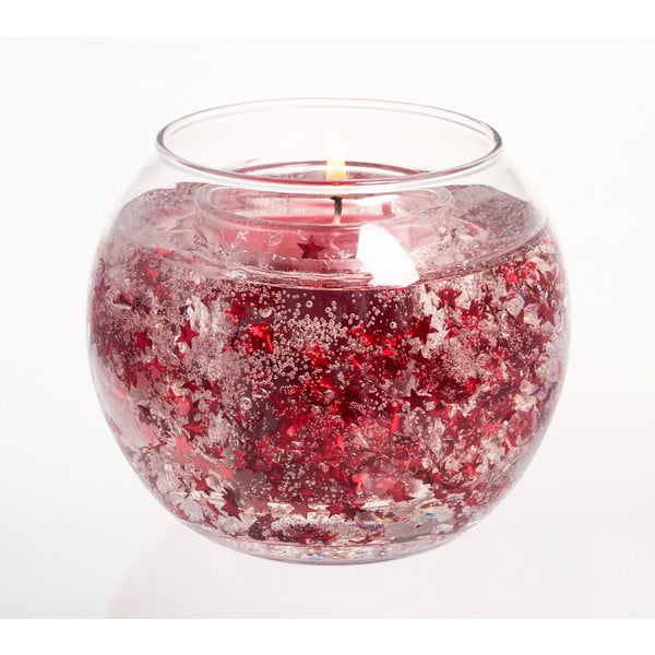 Sviečka Twinkle, červená