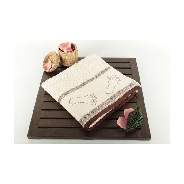 Kúpeľňová predložka Bath Cream Brown, 50x70 cm
