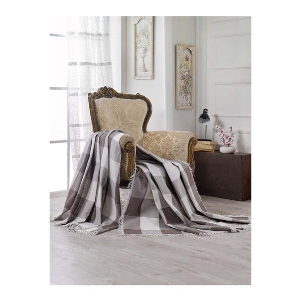 Televízna deka z čistej bavlny Lovely Time, 180 × 230 cm