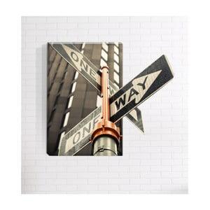 Nástenný 3D obraz Mosticx One Way, 40 x 60 cm