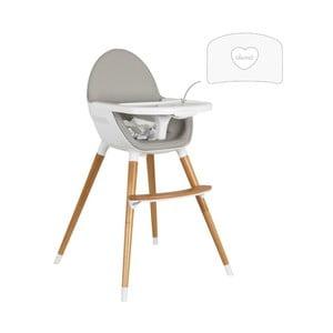 Detská polohovacia jedálenská stolička Tanuki NUUK Heart