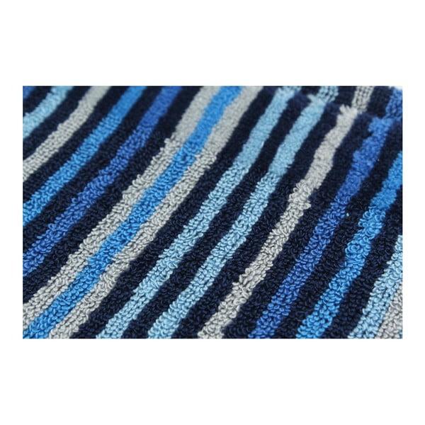 Sada 2 osušiek Collette Dark Blue, 70x140 cm