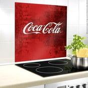Sklenený kryt na stenu pri sporáku Wenko Coca-Cola Classic, 60×50 cm