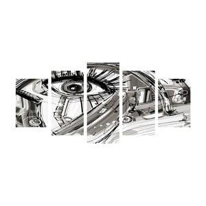 Viacdielny obraz Black&White Eye