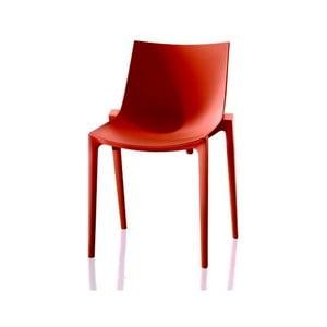 Oranžová jedálenská stolička Magis Zartan