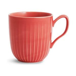 Korálovočervený porcelánový hrnček Kähler Design Hammershoi, 330 ml