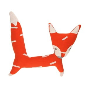 Vankúš Art For Kids Fox, 45 × 46 cm
