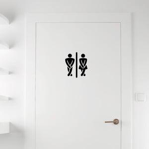 Samolepka Ambiance Man / Woman Restrooms