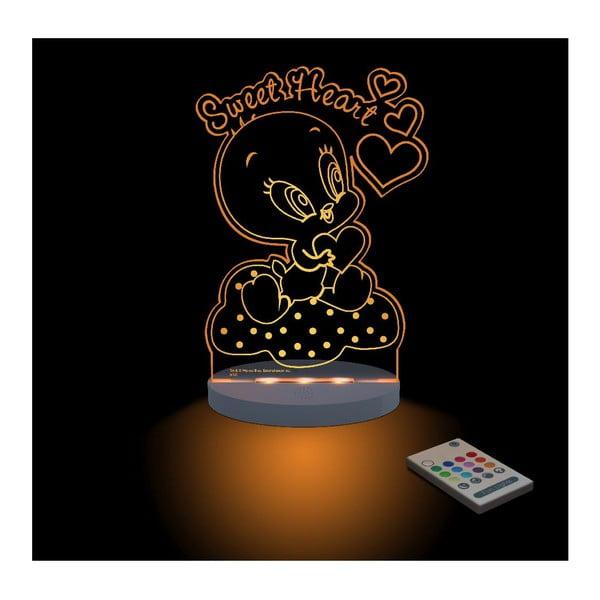 Detské LED nočné svetielko Baby Tweety