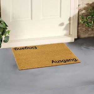Rohožka Artsy Doormats Ausgang, 40 × 60 cm
