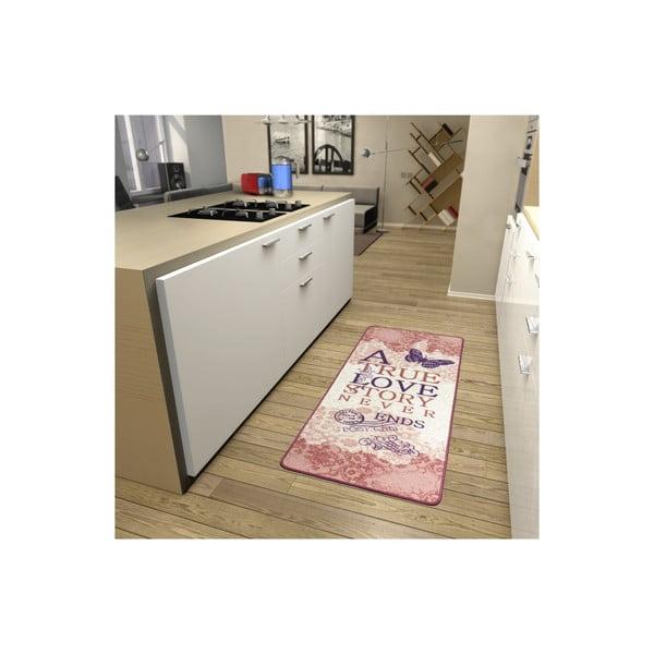 Kuchynský koberec True Love, 67x180cm