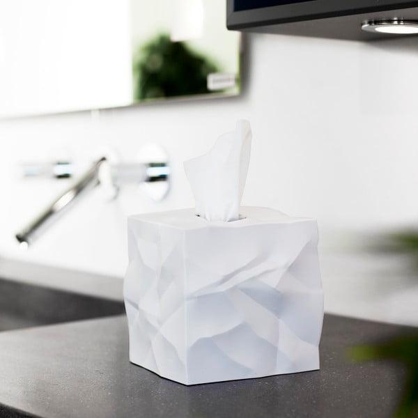 Box na vreckovky Wipy Cube White