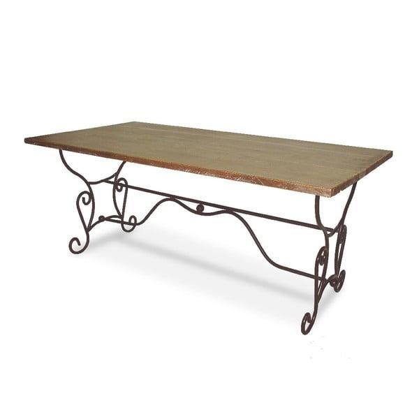 Stôl Iron Wood, 180x90x75 cm