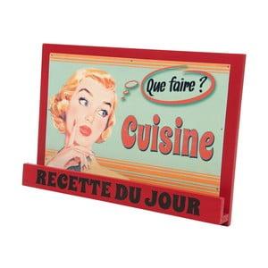 Stojan na kuchársku knihu Antic Line Vintage Cuisine