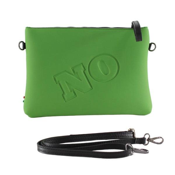 Neoprénová listová kabelka Yes/No, zelené