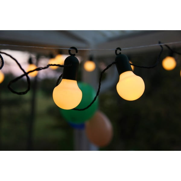 Svetelná LED reťaz vhodná do exteriéru Best Season Party, 20 svetielok